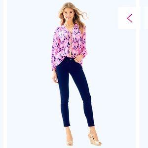 Lilly Pulitzer Worth Sateen Skinny Jean